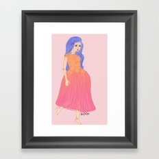 lovefool Framed Art Print