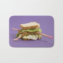 Ultraviolet Sandwich Doll Bath Mat