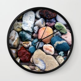 Great Lakes Treasures Wall Clock