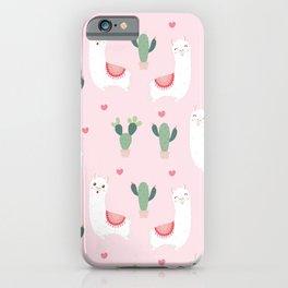 Cute Alpacca's iPhone Case