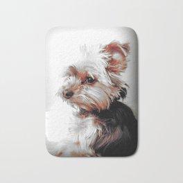 Yorkie | Dog | Dogs | Bad Day eh? | Nadia Bonello Bath Mat