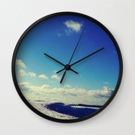 Winter Hills Wall Clock