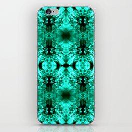 Dandelions Trippinturquoise iPhone Skin