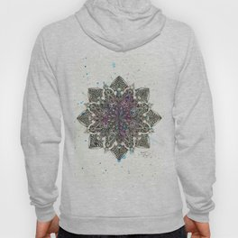 Zen Watercolor Mandala Full Hoody