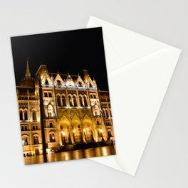 Parliament building in Budapest, capital of Hungary. Stationery Cards