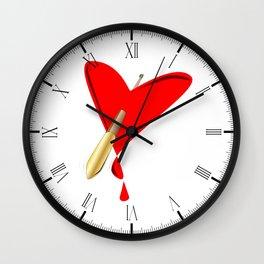 Cupids Arrow Wall Clock