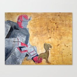 Ratchet and Ronto Canvas Print
