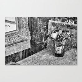 dice reflection Canvas Print