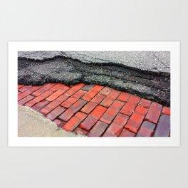 Layers of Humanity Art Print