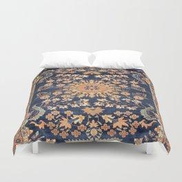 Sarouk Persian Floral Rug Print Duvet Cover