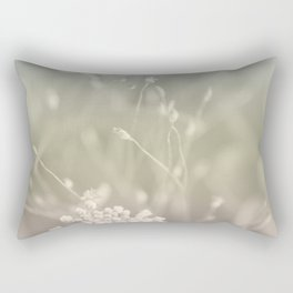 Pastel Flower Vibes #1 #decor #art #society6 Rectangular Pillow