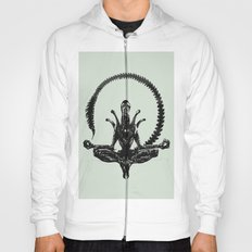 Meditation Alien Hoody