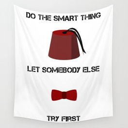 DO THE SMART THING Wall Tapestry