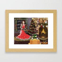 Christmas Celebration Framed Art Print