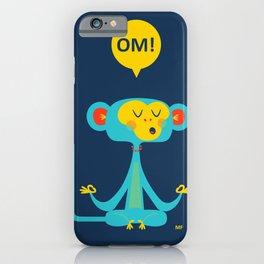 OM! Monkey iPhone Case