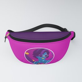 Beyond The Path/ Retro Woman/ Illuminated Heart/ Tropical Island Sunset Fanny Pack