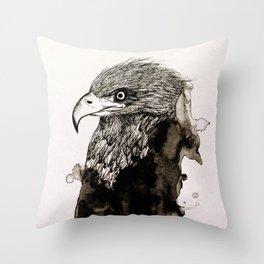 The Spirit of the Eagle Throw Pillow