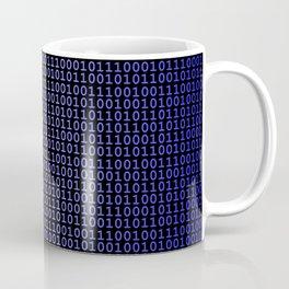 Binary Blue Coffee Mug