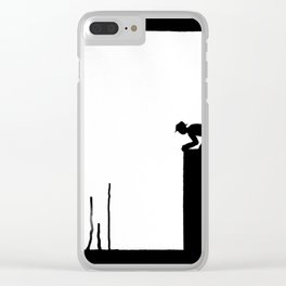 The Up Drip Clear iPhone Case
