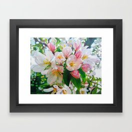 Wild Apple Framed Art Print