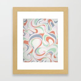 Abstract print design Framed Art Print