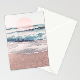 Sea, Salt, Sand and Sun Pastel Vibes Stationery Cards