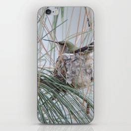 Pine Veil Nesting iPhone Skin