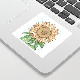 Cheerful Sunflower Sticker