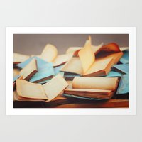 books Art Prints featuring Books by Nina's clicks