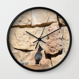 Resident Jay - North Rim Grand Canyon Lodge Wall Clock