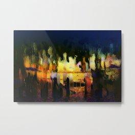 citylights Metal Print