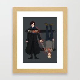 Brothers not in blood but bond Framed Art Print