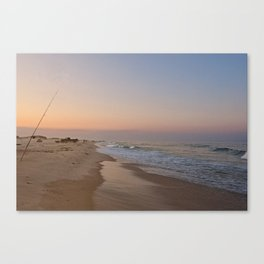 Down by the Shore Canvas Print