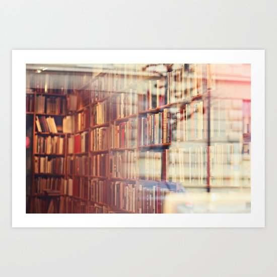 Endless amount of stories Art Print