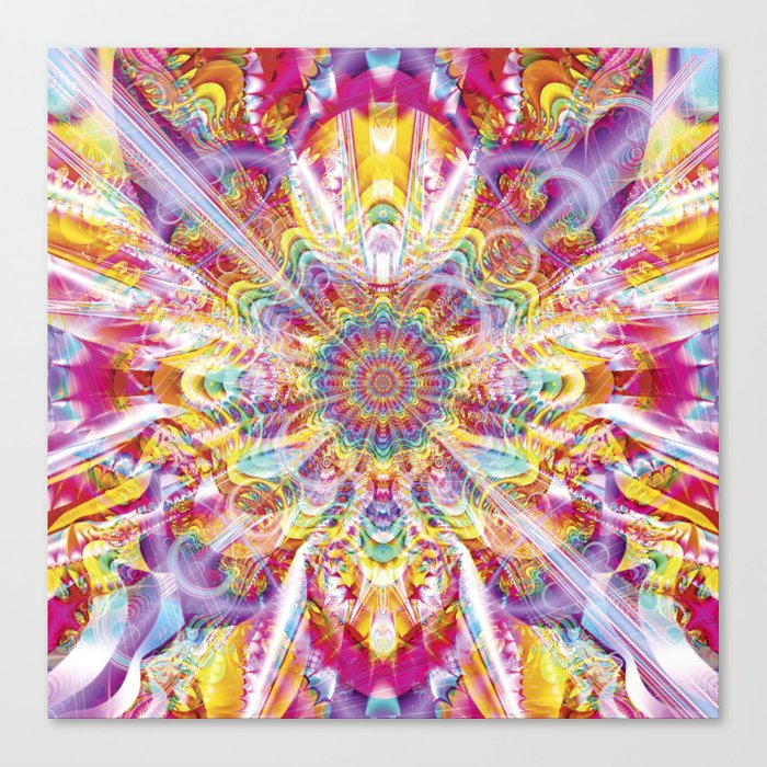 Psychedelic Soiree Canvas Print