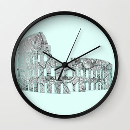 Roman Colosseum Wall Clock