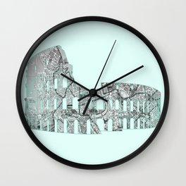 Roman Colosseum Wall Clock