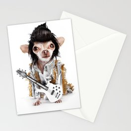 Elvis Chihuahua Stationery Cards