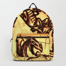 Battling Dragons - Mythical Creatures Backpack
