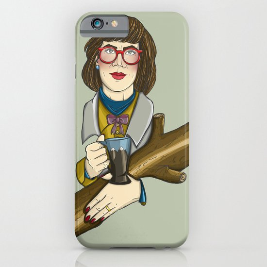 Twin Peaks - The Log Lady iPhone & iPod Case