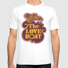 The Love Boat SMALL White Mens Fitted Tee