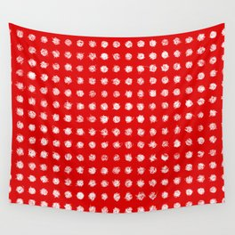 Dotted love Wall Tapestry