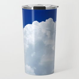 cotton candy clouds Sky Day Travel Mug