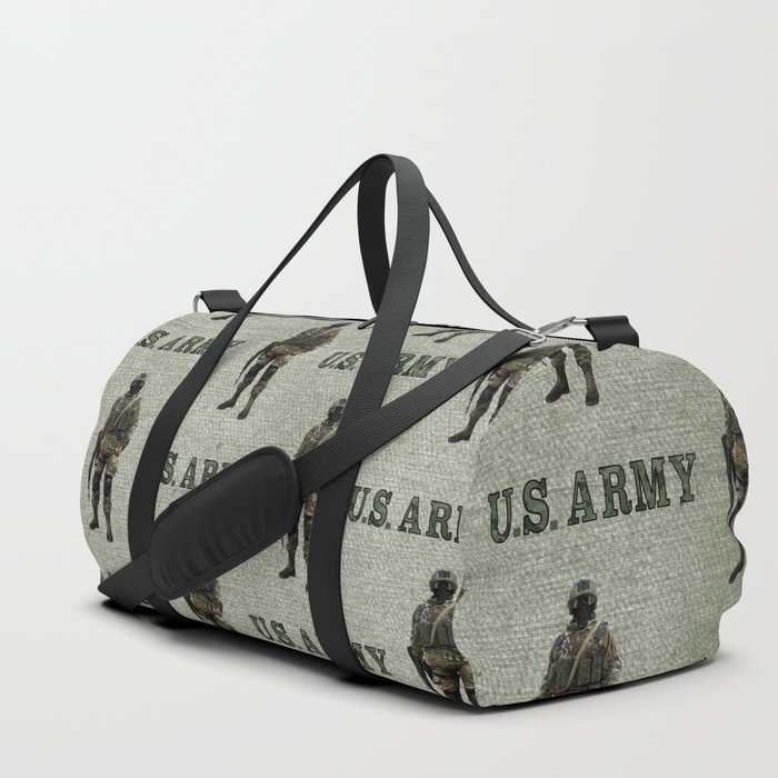 US Army Green Soldier Duffle Bag