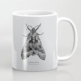 Cabbage Moth [Mamestra brassicae] Coffee Mug