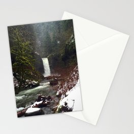 Weisendanger Falls by Seasons Kaz Sparks Stationery Cards