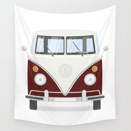 Hippie bus Wall Tapestry