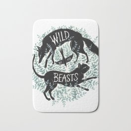 We Are Wild Beasts Bath Mat