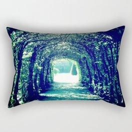 tunnel vision Rectangular Pillow