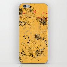 erased 4 iPhone & iPod Skin